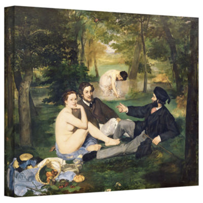 Brushstone Dejeuner sur I'Herbe Gallery Wrapped Canvas Wall Art