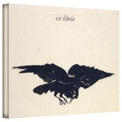 Brushstone Le Corbeau (The Raven) Gallery WrappedCanvas Wall Art