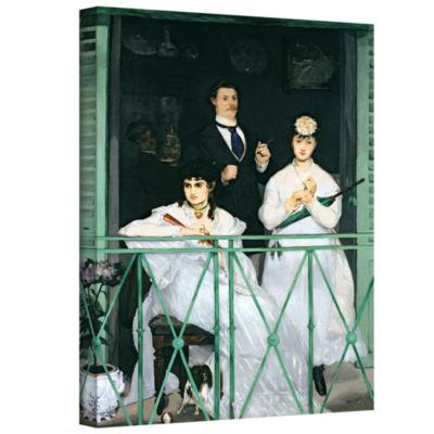 Brushstone The Balcony Gallery Wrapped Canvas WallArt