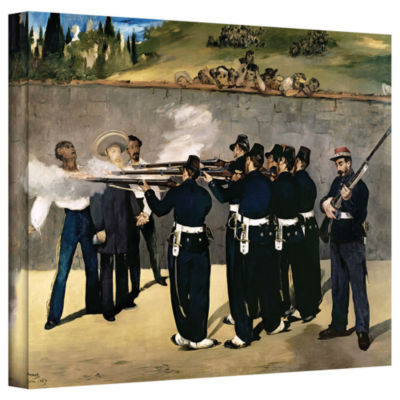 Brushstone The Execution of Emperor Maximilian Gallery Wrapped Canvas Wall Art