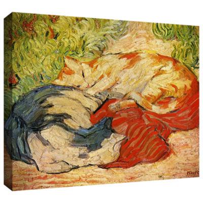 Brushstone Bathing Girls Gallery Wrapped Canvas Wall Art