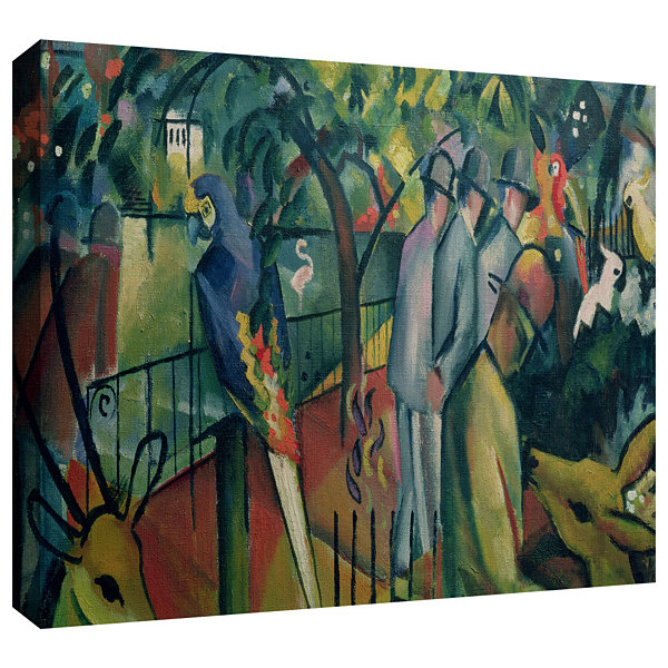 Brushstone Beast II Gallery Wrapped Canvas Wall Art
