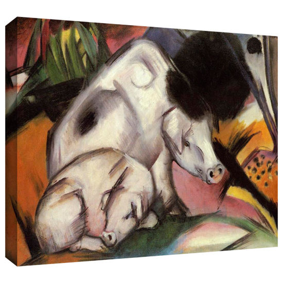 Brushstone Cats Gallery Wrapped Canvas Wall Art