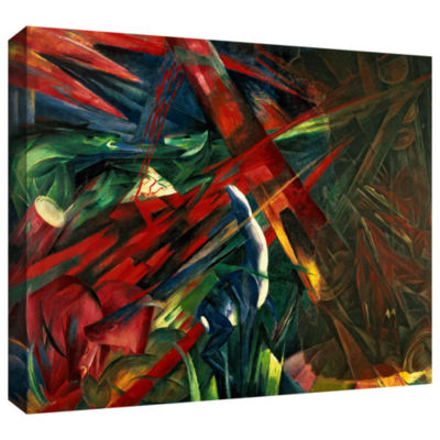 Brushstone Fate of The Animals Gallery Wrapped Canvas Wall Art
