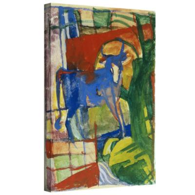 Brushstone Mandrill Gallery Wrapped Canvas Wall Art