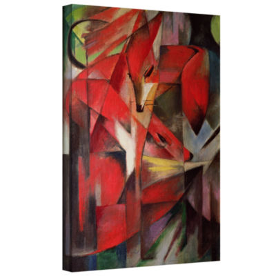 Brushstone The Fox Gallery Wrapped Canvas Wall Art