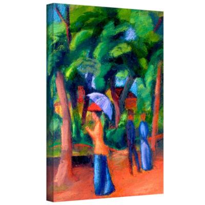 Brushstone Three Horses Gallery Wrapped Canvas Wall Art