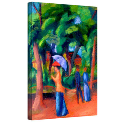 Brushstone Three Horses Gallery Wrapped Canvas Wall Art