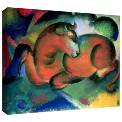 Brushstone Zoological Garden I (same as 023) Gallery Wrapped Canvas Wall Art