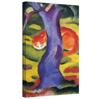Brushstone Zoological Garden I Gallery Wrapped Canvas Wall Art
