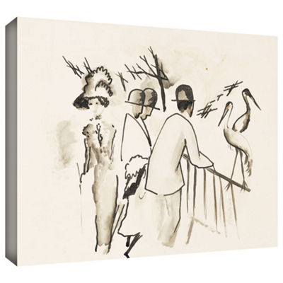 Brushstone Zoological Garden II Gallery Wrapped Canvas Wall Art