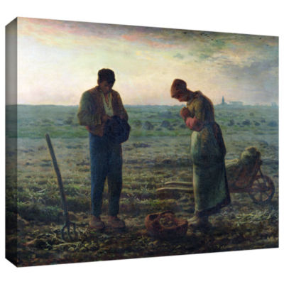 Brushstone The Angelus Gallery Wrapped Canvas WallArt