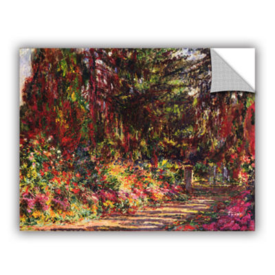 Brushstone The Garden Path At Giverny 1902 Removable Wall Decal