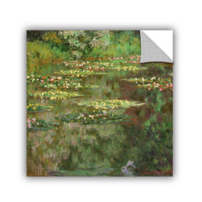 Brushstone The Water Lily Pond (Nymoheas) 1904 Removable Wall Decal