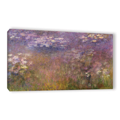Brushstone Water Lilies (Agapanthus) 1915-26 Gallery Wrapped Canvas Wall Art