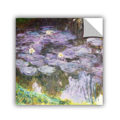 Brushstone Waterlilies; 1917 Removable Wall Decal