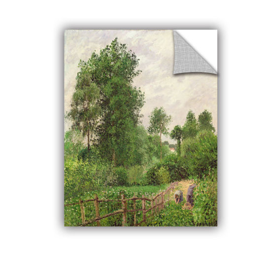 Brushstone Paysage Temps Gris A Eragny 1899 Removable Wall Decal