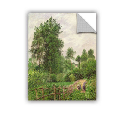Brushstone Paysage; Temps Gris A Eragny; 1899 Removable Wall Decal