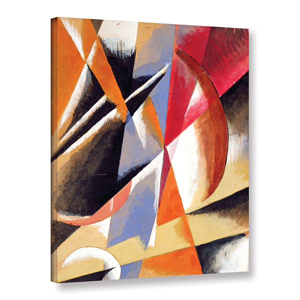 Brushstone Composition; c.1920 Gallery Wrapped Canvas Wall Art