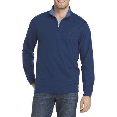 IZOD Mock Neck Long Sleeve Pullover Sweater