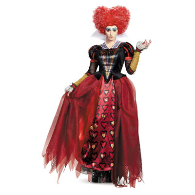 Alice Through the Looking Glass: Red Queen DeluxeAdult Costume