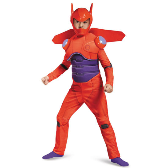 Big Hero 6: Baymax Deluxe Muscle Child Costume