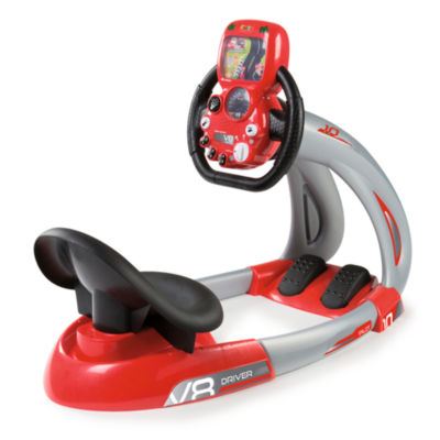 Smoby - V8 Driver with Smartphone Holder and Free Smoby App