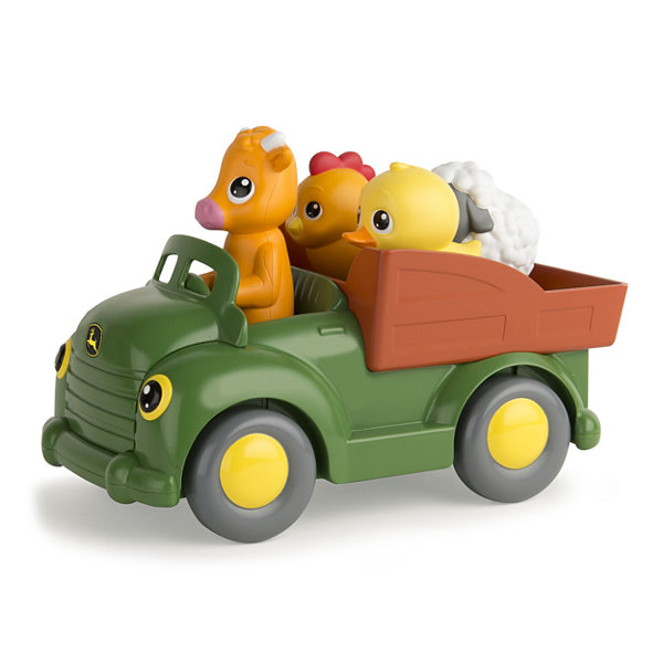 TOMY - John Deere Learn N Pop Farmyard Friends