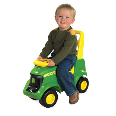 John Deere - Sit N Scoot Activity Tractor