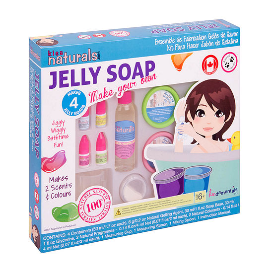 Kiss Naturals Diy Jelly Soap Kit