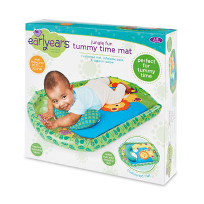 International Playthings - Earlyears Jungle Fun Tummy Time Mat