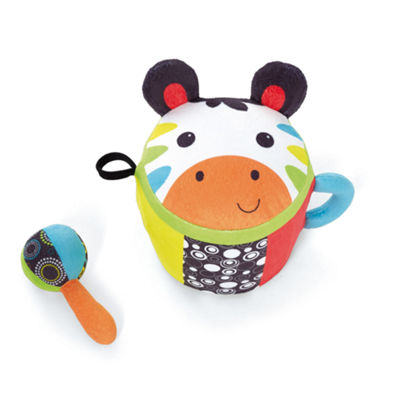 International Playthings - Earlyears Zebra Jingle Drum