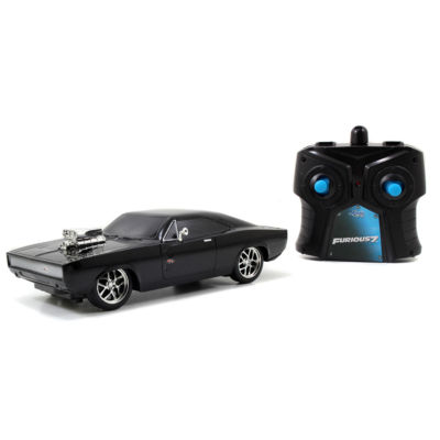 Jada Toys - Fast and Furious 7.5 Inch Remote Control 1970 Dodge Charger