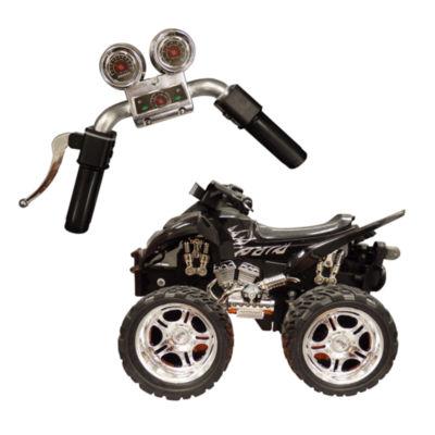 Playtek - 1:12 Scale Motion Steering Remote Control ATV