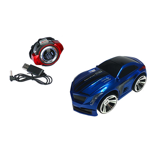 Voice N' Go Racer 2.4 Ghz Voice Controlled Race Car With Usb Charging: Blue