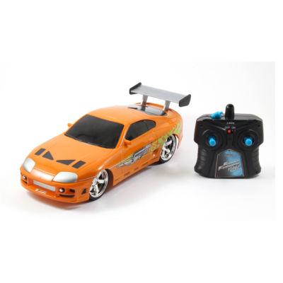 Jada Toys - Fast and Furious 1:16 Radio Control, Brian's Toyota Supra