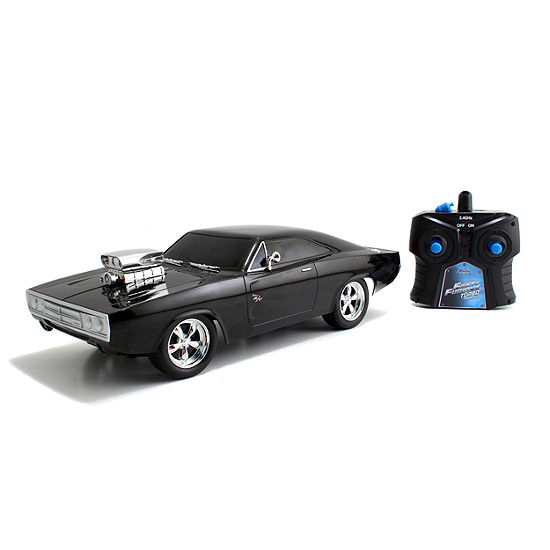 Jada Toys Fast And Furious 116 Radio Control Doms Charger R T