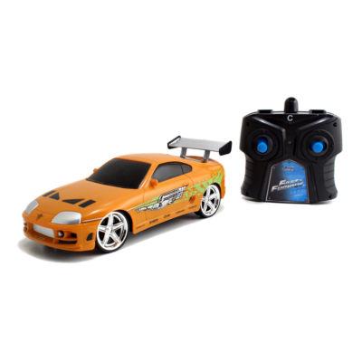 Jada Toys - Fast and Furious 1:24 Radio Control, Brian's Toyota Supra