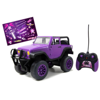 Jada Toys - GirlMazing Remote Control Jeep, Purple
