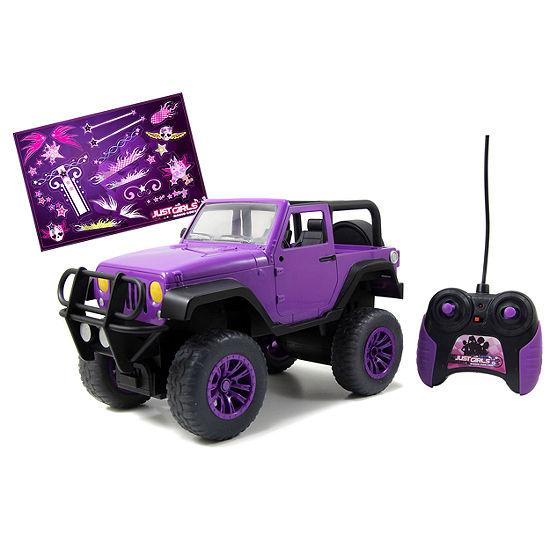 Girlmazing Remote Control Jeep: Purple