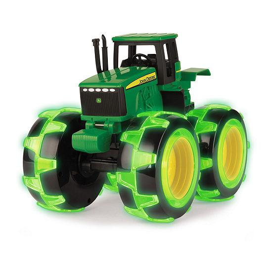Tomy John Deere Lighting Wheels Tractor