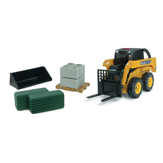 TOMY - 1:16 Scale Big Farm John Deere Skid Steer Set