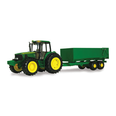 TOMY - 1:16 Scale Big Farm John Deere Tractor with Wagon