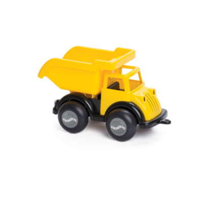International Playthings - Viking Toys 8 Inch Black and Yellow Dump Truck