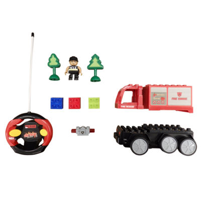 Playtek - Radio Controlled DIY Fire Engine