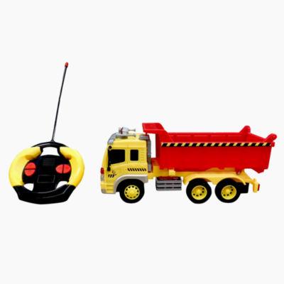 Playtek - 1:16 Scale Remote Control Construction Dump Truck