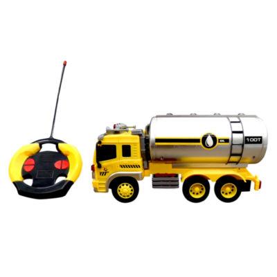 Playtek - 1:16 Scale Remote Control Construction Oil Tank