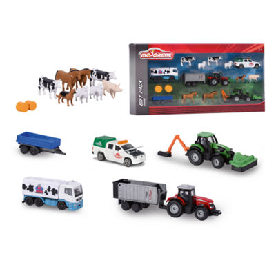 Majorette - Farm Die-Cast 16 Piece Playset, 1:64 Scale
