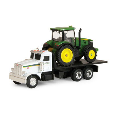 ERTL - John Deere Dealer Truck with 7R Tractor
