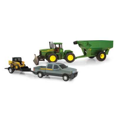 ERTL - John Deere Mega Hauling Set, Truck Skid